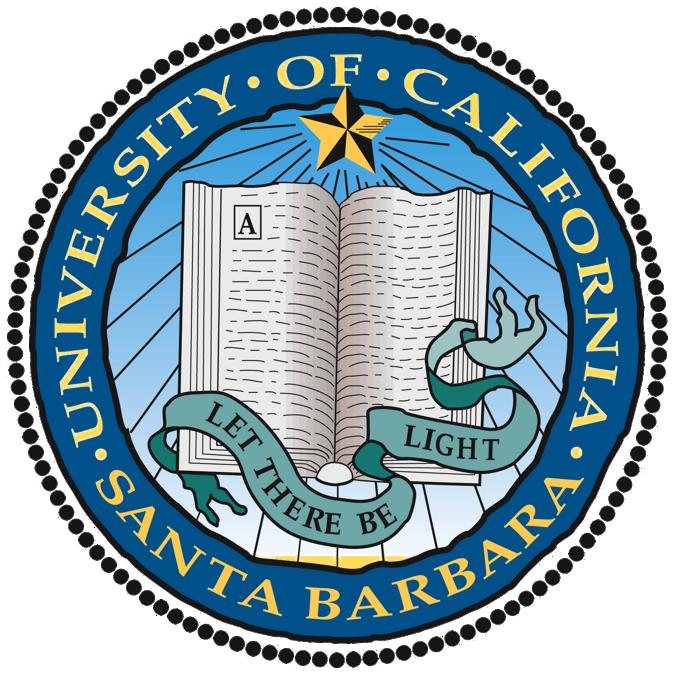 加州大学圣塔芭芭拉分校 logo