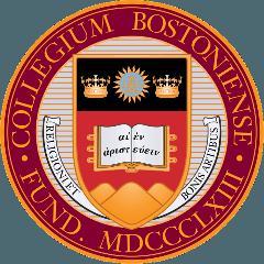 波士顿学院 logo