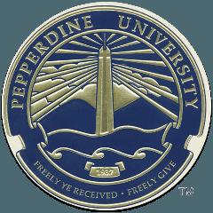 佩珀代因大学 logo